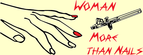 Woman More Than Nails Logo